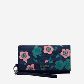 billetera-para-mujer-porta-celular-en-lona-flores-sahula-azul-Totto