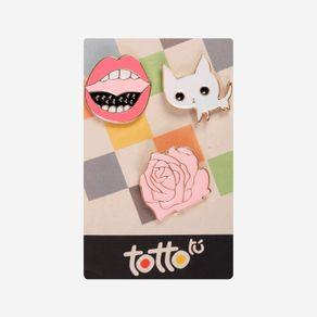 pin-para-nina-metalico-rosa-boca-gato--hisoka-set-x-3-rosado-Totto