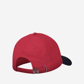 gorra-para-hombre-metalico-romer-rojo-Totto