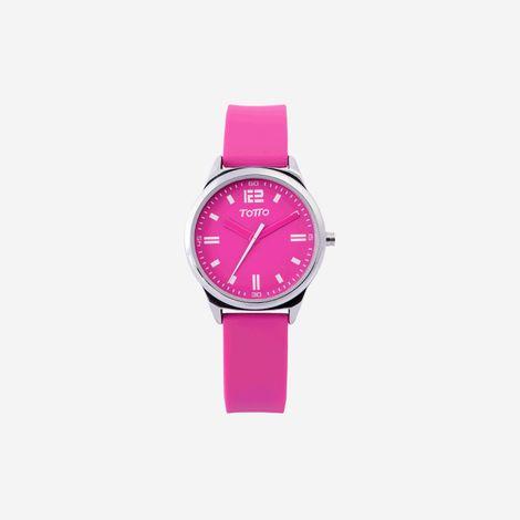 reloj-analogo-para-mujer-3-atm-naranja-palmer-rosado-Totto