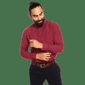 camisa-para-hombre-manga-larga-cuadros-down-estampado-r4m-rio-red-and-white-checks