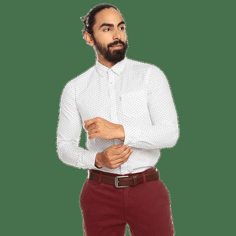 camisa-para-hombre-manga-larga-mini-print-porter-estampado-swm-white-mini-print
