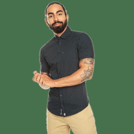 camisa-para-hombre-manga-larga-mini-print-porter-estampado-usm-night-sky-mini-print