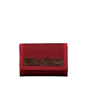 billetera-para-hombre-lona-bako-rojo