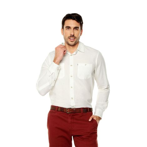 Camisa-para-Hombre-Cuello-Clasico-Regular-Fit-Olivery-Ml