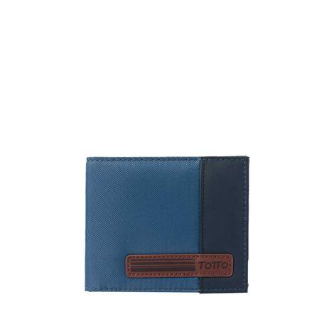 Billetera-halvo-azul